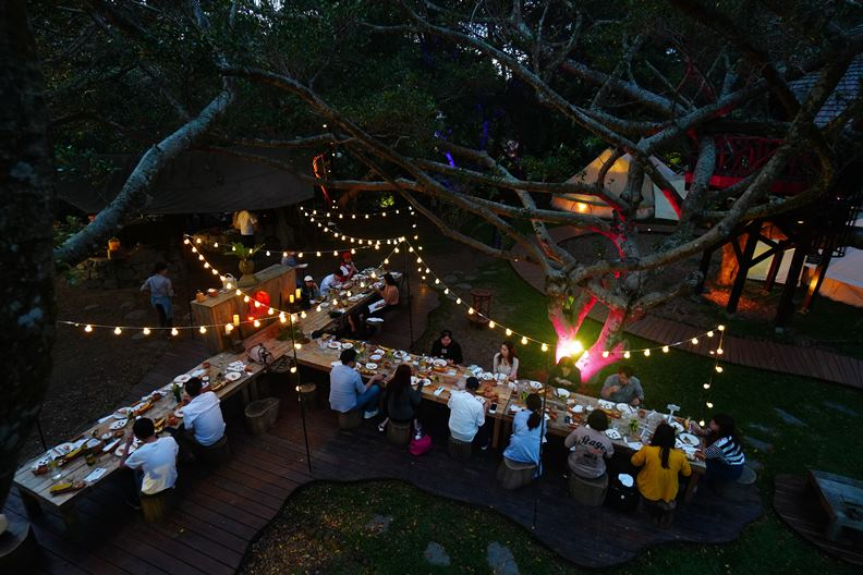 勤美學成為近年來的山中野宿熱門地。