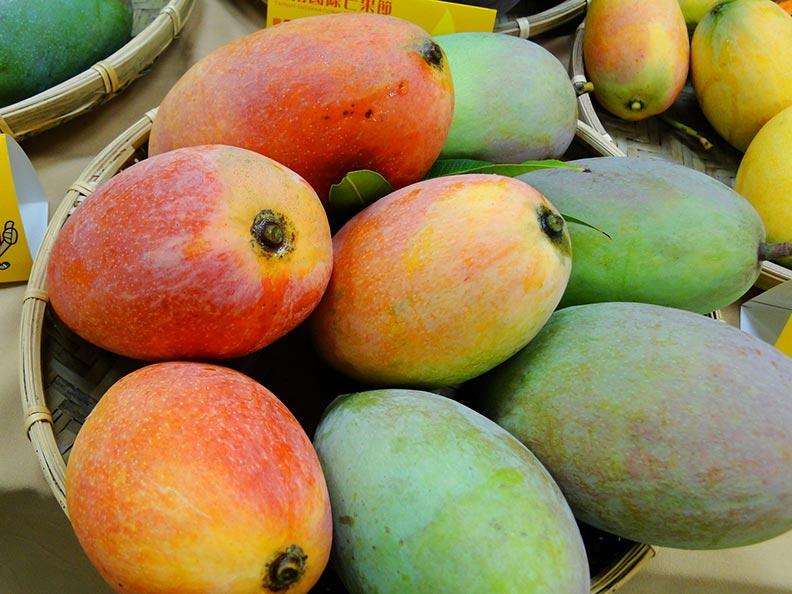 台灣有這種不同的芒果。