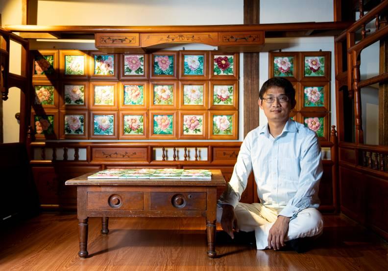 搶救那些年的復古美學!台灣花磚博物館與時間賽跑