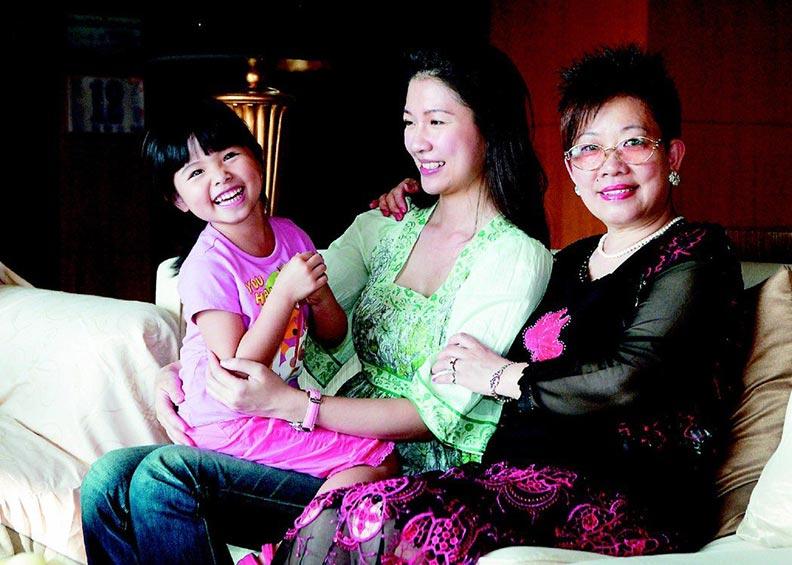 林書煒母親是她成長中的支柱;聯合報資料照。