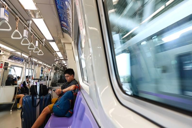 已擁有捷運系統的桃園市,排名從去年的第四(4.8%)晉升到第三(6.7%)!