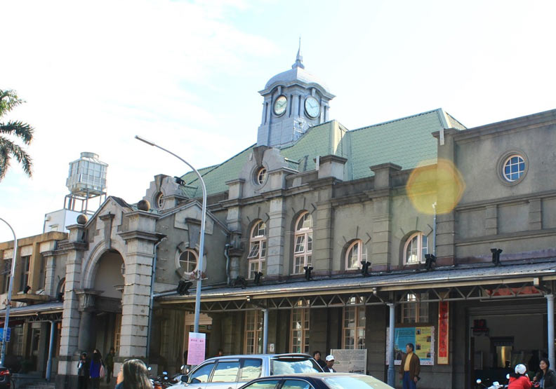 新竹車站。
