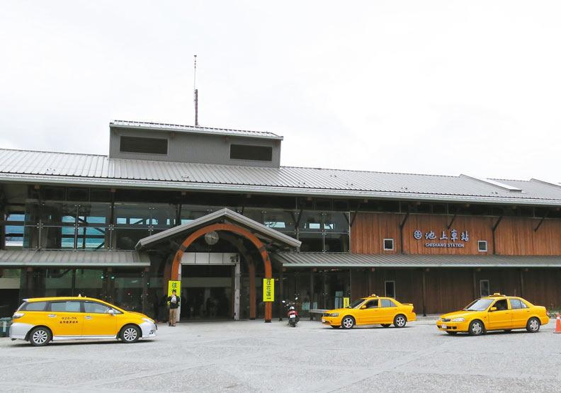 台東的池上車站。
