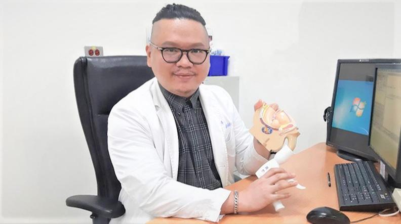 雙和醫院泌尿科醫師高偉棠;高偉棠醫師提供。