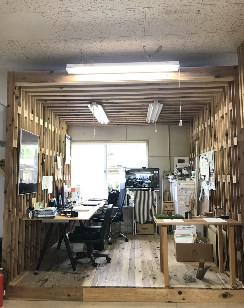 Valley Satellite Office Complex是神山町的Co-working space,由廢棄的縫紉工廠改造而成。