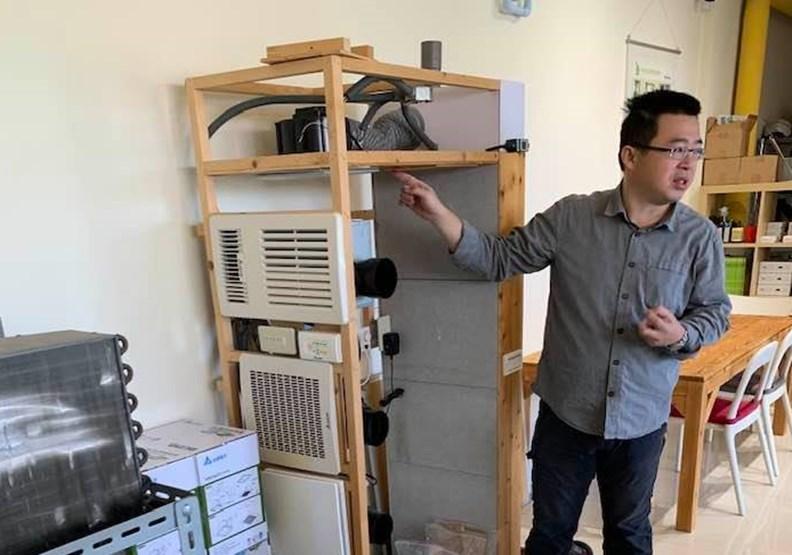 擅長節能改造的「綠適居協會」理事長邱繼哲。