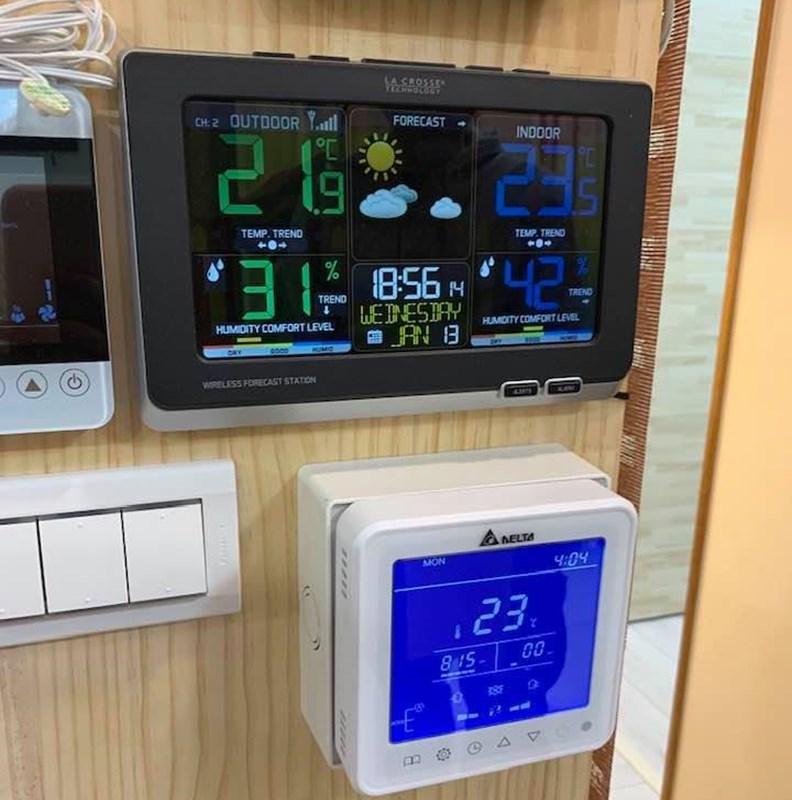 在濕度極高的台灣都市環境,建築節能除了講究斷熱,也要同步做到除溼。(圖片提供:張楊乾)