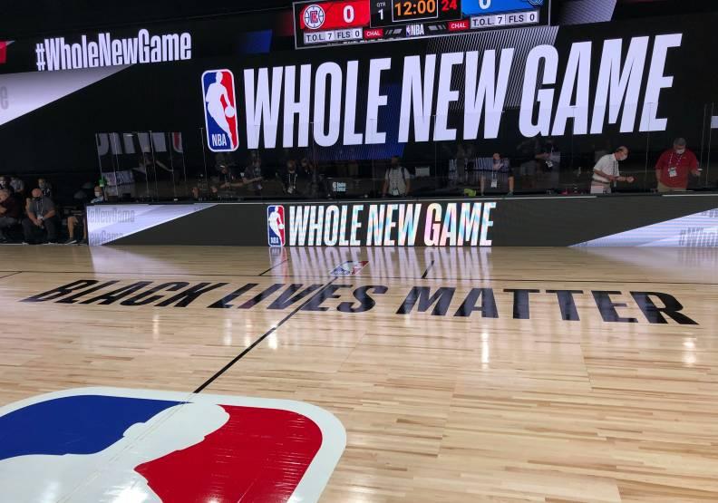 NBA防疫有成。達志影像攝。