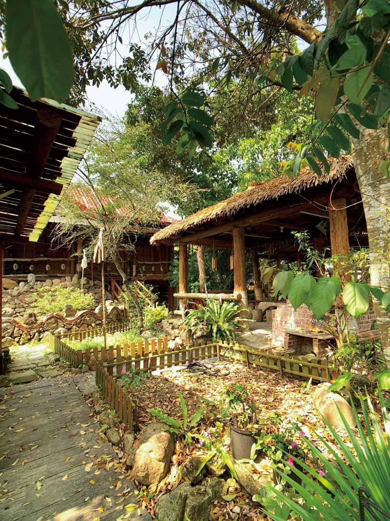 涼亭節來自部落家家戶戶有涼亭的特色。