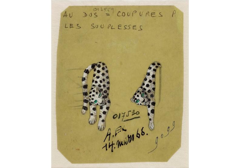 卡地亞前創意總監珍妮杜桑 (Jeanne Toussaint)大量將美洲豹運用在珠寶設計中