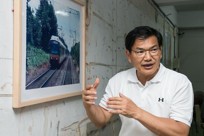 高雄市長補選民眾黨候選人吳益政。