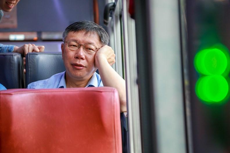 已經連任的台北市長柯文哲,未來動向耐人尋味。
