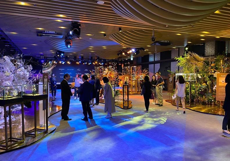 台北101 World Masterpiece的「Premium Watch 殿堂級探索」展場,出自101官方新聞稿