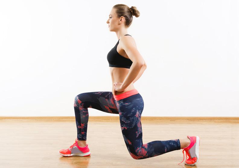 強化核心肌肉,不只是深蹲!「弓步蹲」的解析與常見錯誤