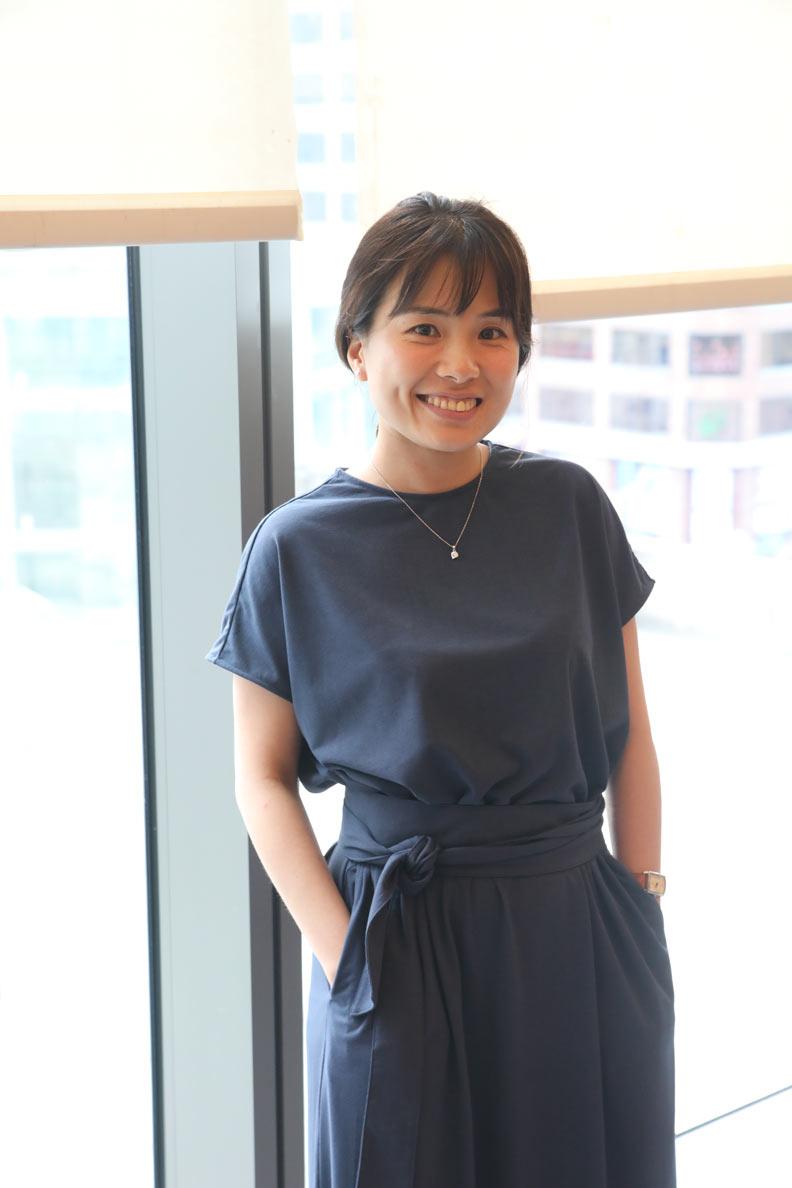 台北市「城市品牌小組」的市長室顧問蕭伶伃。