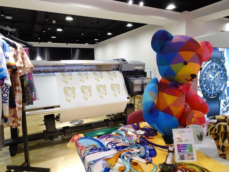 EPSON 近年不斷推廣傳統印刷技術的使用範圍。