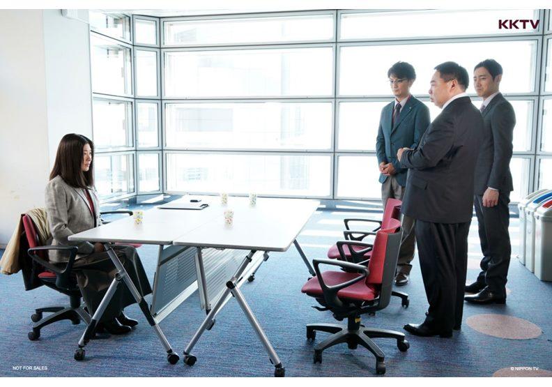 劇中篠原涼子飾演的大前春子,工作上總是不畏艱難,使命必達。圖片來自KKTV