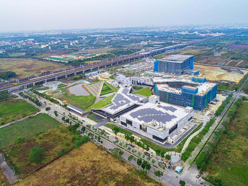 綠能科技示範場域。