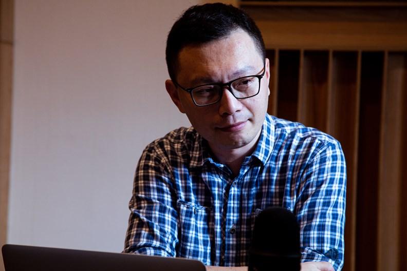 「鵬博藝術」創辦人徐鵬博。