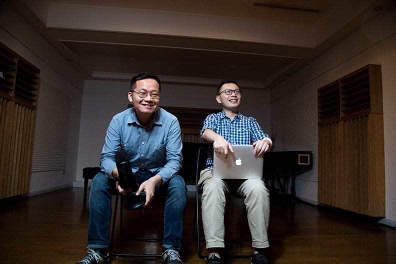 兩位大叔覺得,只要聊得愉快、有內容,同樣可以吸引聽眾進入古典樂世界。