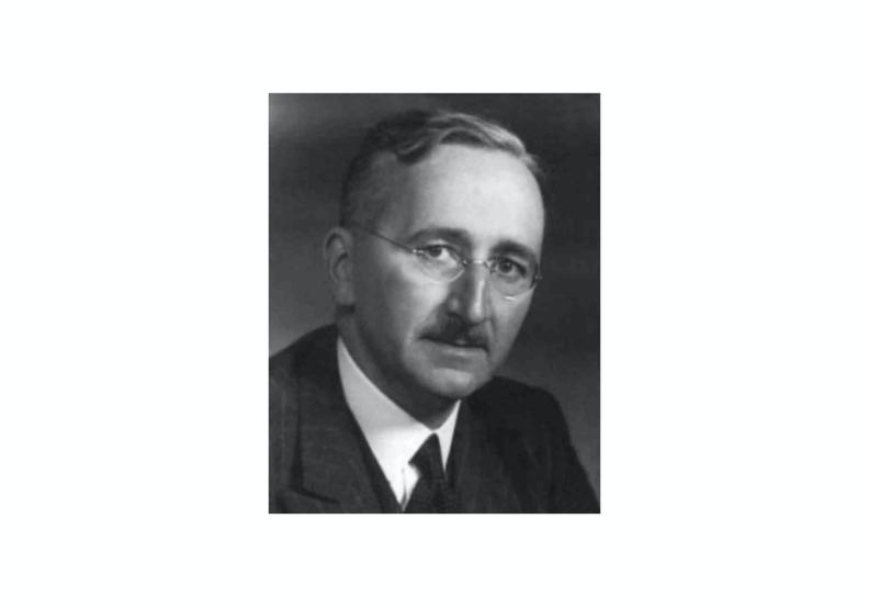 林毓生曾受教於著名的經濟政治思想學者海耶克。圖片來自維基百科。