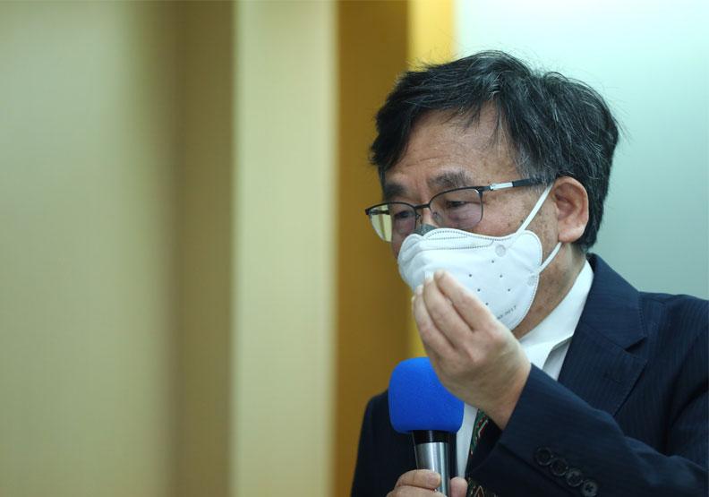 台大公共衛生學院教授陳秀熙。池孟諭攝