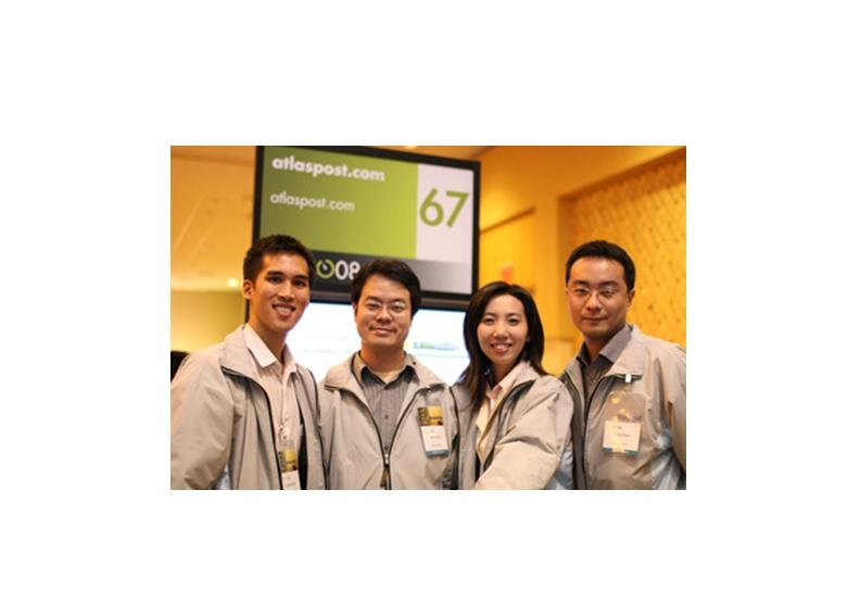 2008年前往矽谷參加DEMO展之地圖日記團隊。圖片作者提供