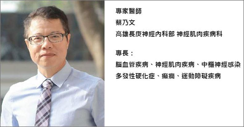 蔡乃文醫師。