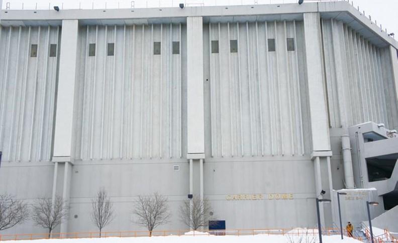曾在雪城的冷氣大廠開利,離開後只留下體育館。