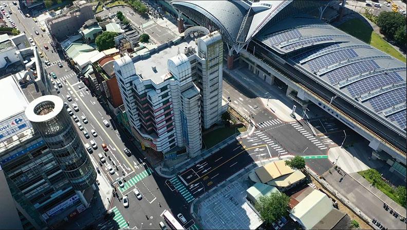 不僅活絡車站周邊整體發展,並串聯周邊景點為舊城區發展添動能。