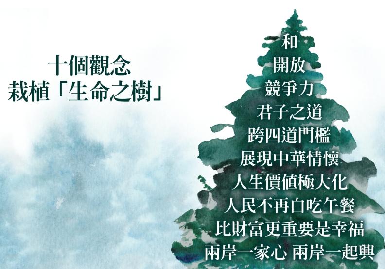 十個觀念栽植「生命之樹」