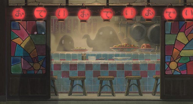 《神隱少女》是吉卜力工作室的代表作之一。圖片取自ghibli官網