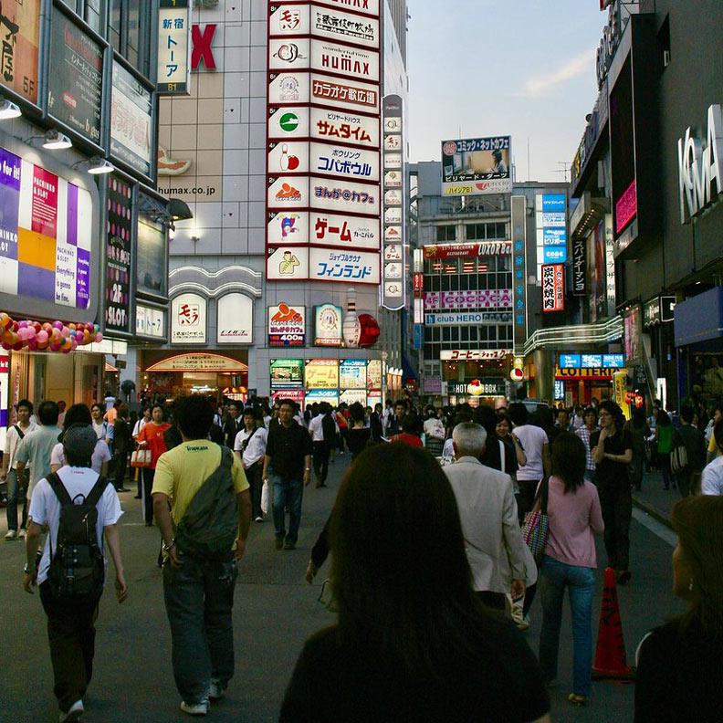 現今日本社會很少人知道歌舞伎町的成立和台灣人有關。圖片取自Flickr,ivva,CC by 2.0