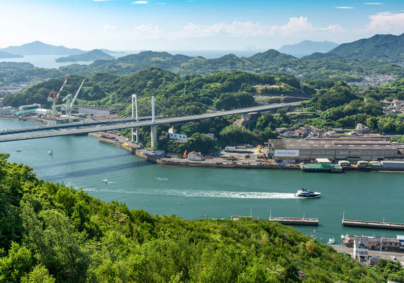 日本廣島縣的尾道市,是一個港口都市。圖片取自尾道観光協会臉書,ononavi.jp