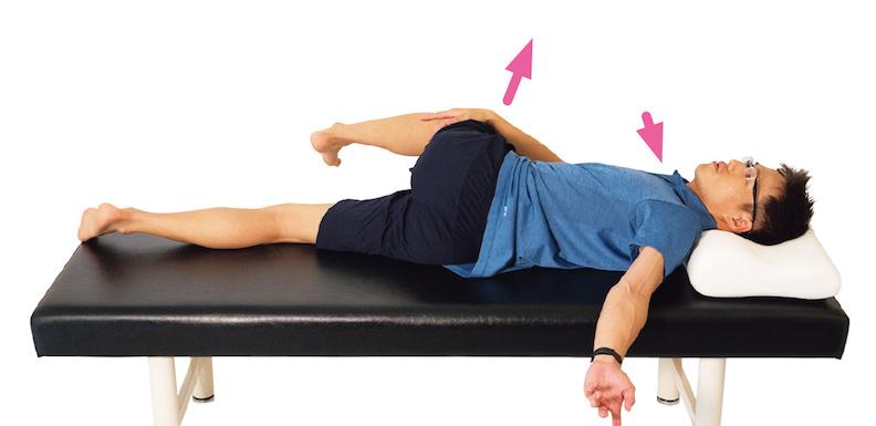 豎棘肌伸展操。