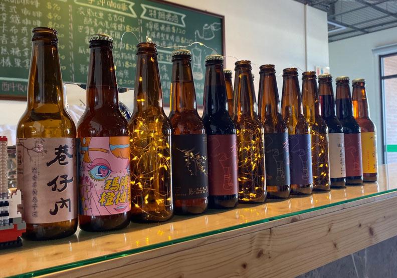 纖碧爾啤酒協助許多國內廠牌釀造精釀啤酒。