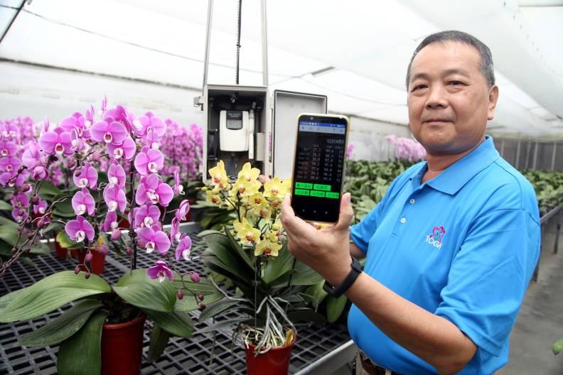 李蒼裕的冠辰蘭業將升級為5G蘭園。