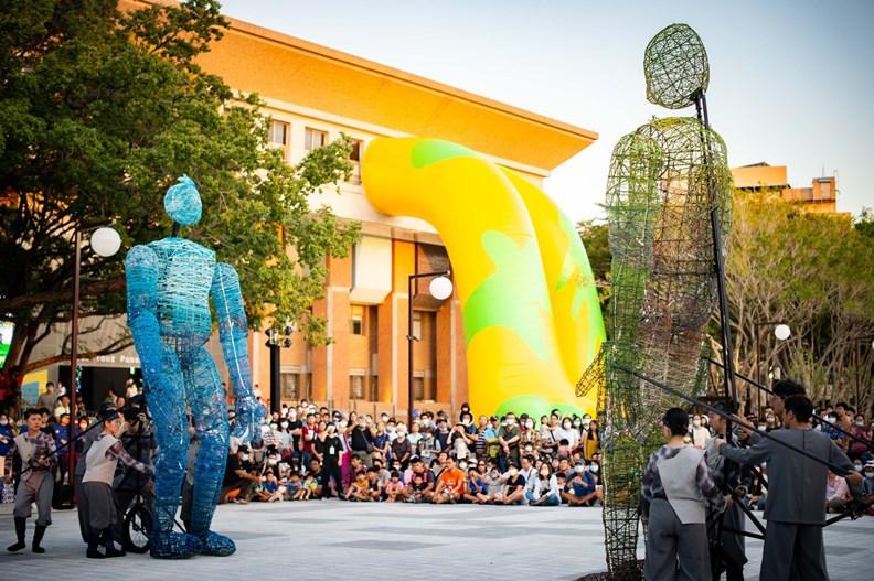 展會期間遊人如織。圖片來源:新竹市政府