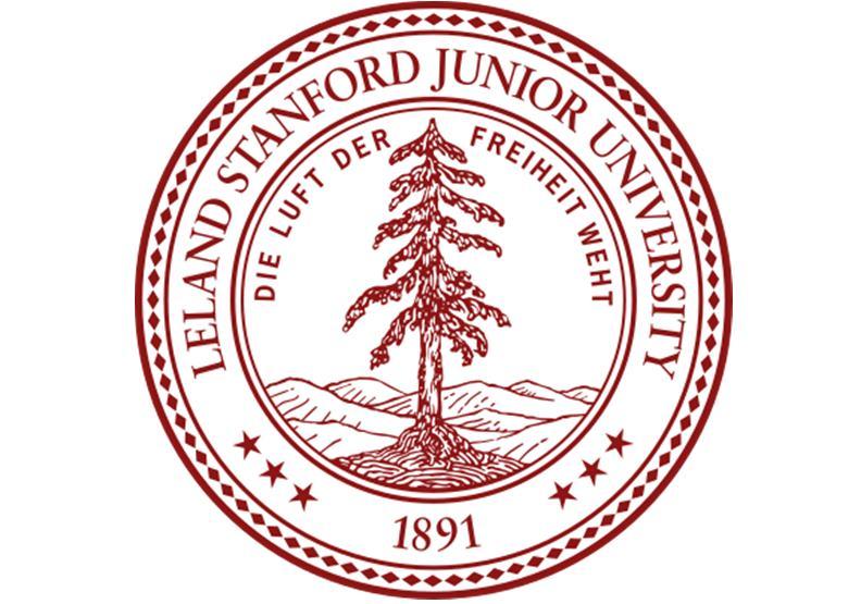 史丹福的校徽中可見到這句德文校訓,Die Luft der Freiheit weht,意思是自由之風永遠吹拂。圖片來自Wiki