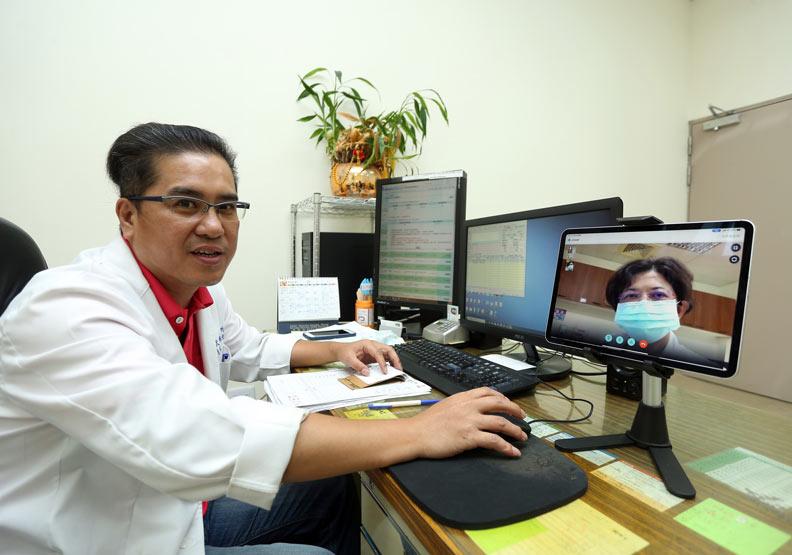大武鄉的5G遠端醫療造福當地鄉親。