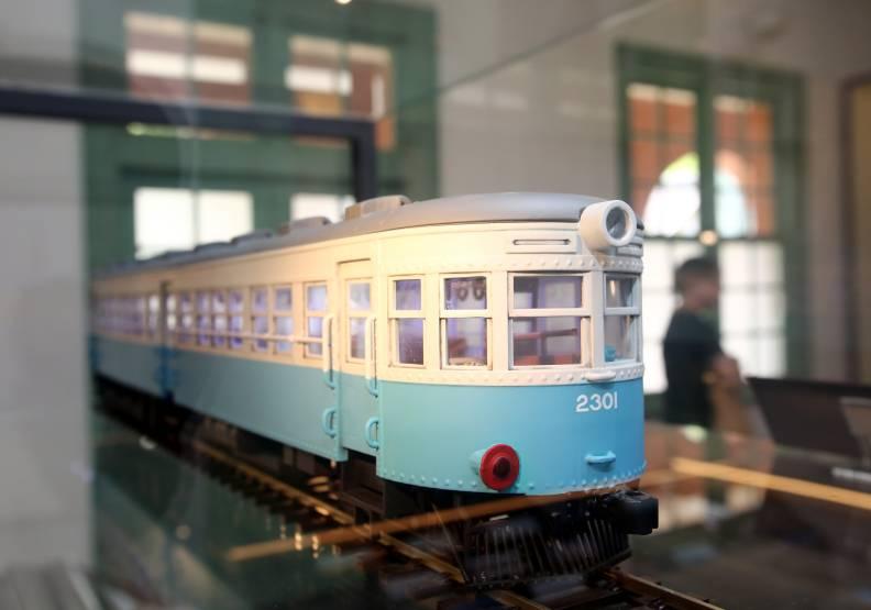 今年開幕不久的台灣博物館「鐵道部園區」。