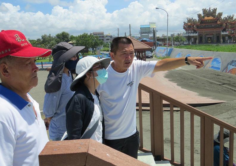 彌陀漁港舊泊區及海岸光廊環境及親水設施營造。圖片提供:台灣河溪網