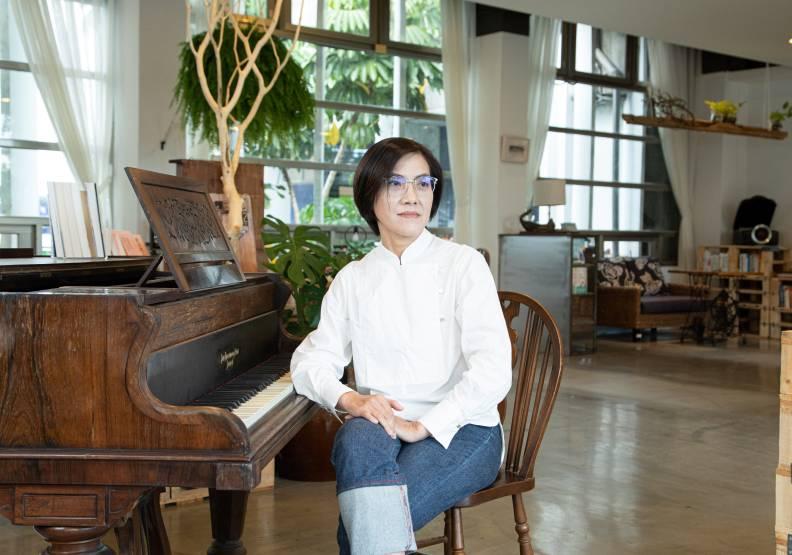 左岸生活設計總經理黃秋萍。