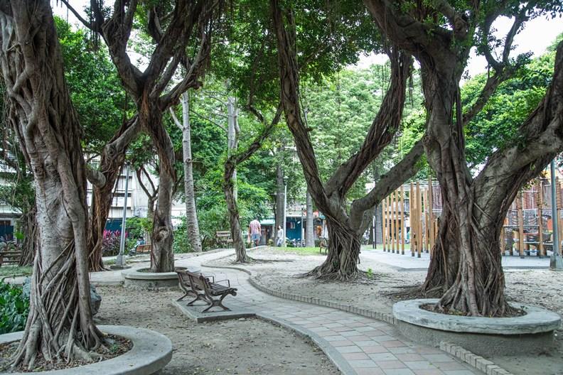 樹德公園是社區居民的活動中心。