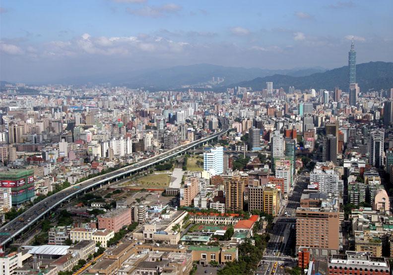不少矽谷人選擇搬遷回台北。陳之俊攝