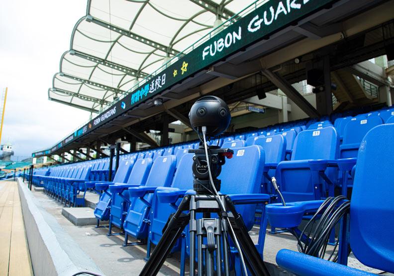 20台高速攝影機將比賽畫面即時錄下。