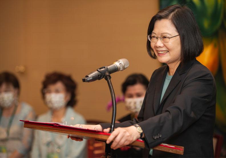 馬凱碩相當希望,由蔡英文領導的台灣政府,能更了解地緣政治鐵律。圖片由總統府提供。