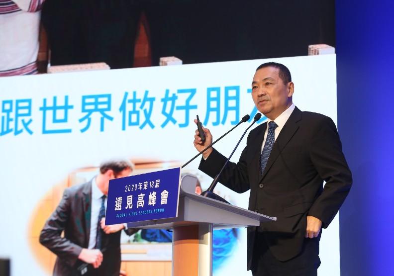 新北市長侯友宜:面對疫後新世界,用合作取代對立!