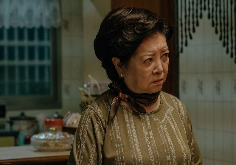 阿華伯的母親,就和《孤味》劇中陳淑芳扮演的媽媽一樣堅強,真實的她卻沒等到可安享天倫樂就過世。圖片來自威視電影