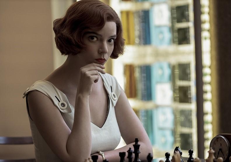劇中女主角貝絲。圖片來自Netflix